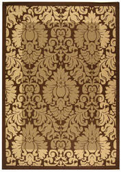 Safavieh Courtyard Cy2727-3009 Brown / Natural Area Rug