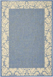 Safavieh Courtyard Cy2727-3103 Blue / Natural Area Rug