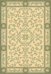 Safavieh Courtyard Cy2829-1e01 Natural / Olive Area Rug