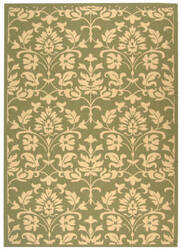 Safavieh Courtyard Cy3416 Olive - Natural Area Rug