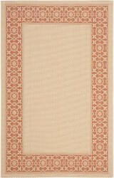 Safavieh Courtyard Cy6003-11 Cream / Terracotta Area Rug