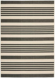 Safavieh Courtyard Cy6062-216 Black / Bone Area Rug