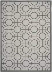 Safavieh Courtyard Cy6115-78 Light Grey / Anthracite Area Rug