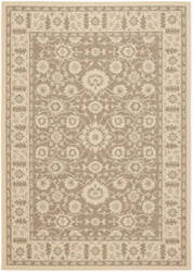 Safavieh Courtyard Cy6126-22 Brown / Creme Area Rug