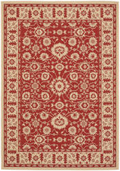 Safavieh Courtyard Cy6126-28 Red / Creme Area Rug