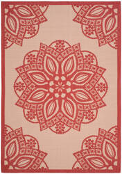 Safavieh Courtyard Cy6139 Beige - Red Area Rug