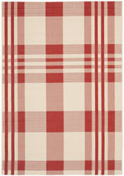 Safavieh Courtyard Cy6201-238 Red / Bone Area Rug