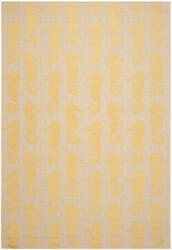 Safavieh Courtyard Cy6214 Beige - Yellow Area Rug