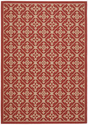 Safavieh Courtyard Cy6564-28 Red / Creme Area Rug