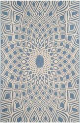 Safavieh Courtyard Cy6616 Blue - Beige Area Rug