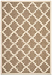 Safavieh Courtyard Cy6903-242 Brown / Bone Area Rug