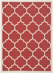 Safavieh Courtyard CY6914-248 Red / Bone Area Rug