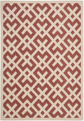 Safavieh Courtyard Cy6915-238 Red / Bone Area Rug