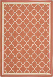 Safavieh Courtyard Cy6918-241 Terracotta / Bone Area Rug
