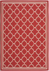 Safavieh Courtyard Cy6918-248 Red / Bone Area Rug