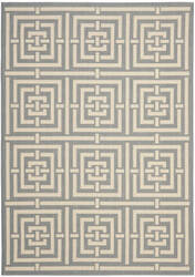 Safavieh Courtyard Cy6937-65 Grey / Cream Area Rug