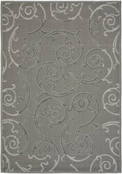 Safavieh Courtyard Cy7108-87a5 Anthracite / Light Grey Area Rug