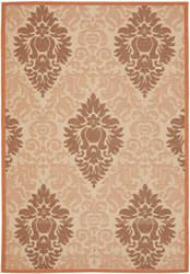 Safavieh Courtyard Cy7133-11a7 Cream / Terracotta Area Rug
