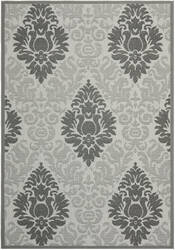 Safavieh Courtyard Cy7133-78a5 Light Grey / Anthracite Area Rug