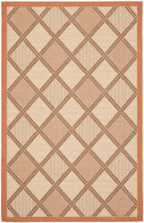 Safavieh Courtyard Cy7570-11a7 Cream / Terracotta Area Rug