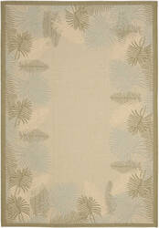 Safavieh Courtyard Cy7945-14a18 Cream / Green Area Rug
