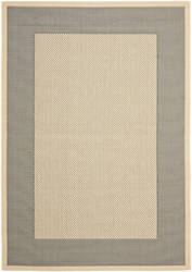 Safavieh Courtyard Cy7987-65a5 Grey / Cream Area Rug
