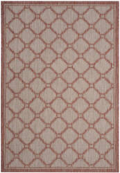 Safavieh Courtyard Cy8474 Red - Beige Area Rug