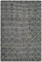 Safavieh Dip Dye Ddy101c Grey - Charcoal Area Rug