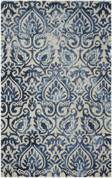 Safavieh Dip Dye Ddy511k Royal Blue - Beige Area Rug