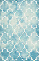 Safavieh Dip Dye Ddy535d Turquoise - Ivory Area Rug