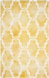 Safavieh Dip Dye Ddy536h Gold - Ivory Area Rug
