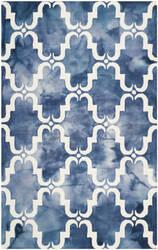 Safavieh Dip Dye Ddy536n Navy - Ivory Area Rug
