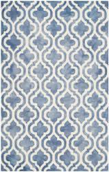 Safavieh Dip Dye Ddy537k Blue - Ivory Area Rug