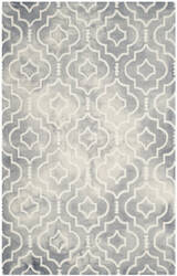 Safavieh Dip Dye Ddy538c Grey - Ivory Area Rug