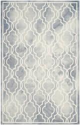 Safavieh Dip Dye Ddy539c Grey - Ivory Area Rug