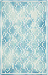 Safavieh Dip Dye Ddy539d Turquoise - Ivory Area Rug