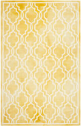 Safavieh Dip Dye Ddy539h Gold - Ivory Area Rug