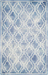 Safavieh Dip Dye Ddy539k Blue - Ivory Area Rug