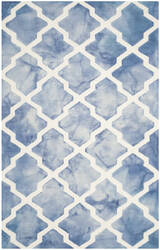 Safavieh Dip Dye Ddy540k Blue - Ivory Area Rug