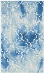 Safavieh Dip Dye Ddy676g Blue - Ivory Area Rug