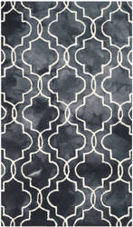 Safavieh Dip Dye Ddy676j Graphite - Ivory Area Rug