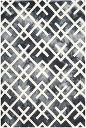 Safavieh Dip Dyed Ddy677j Graphite - Ivory Area Rug