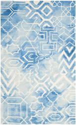 Safavieh Dip Dye Ddy678g Blue - Ivory Area Rug