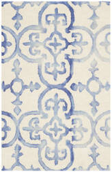 Safavieh Dip Dye Ddy711a Ivory - Blue Area Rug