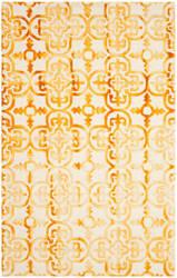 Safavieh Dip Dye Ddy711c Ivory - Gold Area Rug