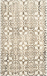 Safavieh Dip Dyed Ddy711f Ivory - Brown Area Rug