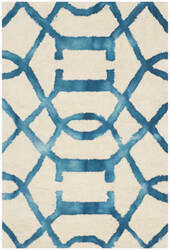 Safavieh Dip Dye Ddy712h Ivory - Turquoise Area Rug