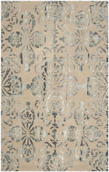 Safavieh Dip Dyed Ddy719m Camel - Grey Area Rug