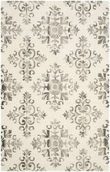 Safavieh Dip Dyed Ddy720d Ivory - Charcoal Area Rug