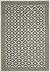 Safavieh Dhurries DHU411A Ivory / Black Area Rug